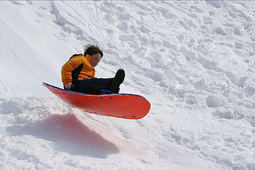 Ultimate Sledding at St. Anthony Sand Dunes