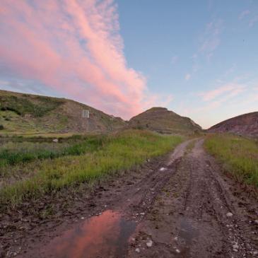 Teton Dam Site